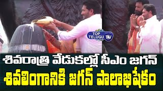 CM YS Jagan Participated in Maha Shivaratri Celebrations At Gudivada | Top Telugu Tv
