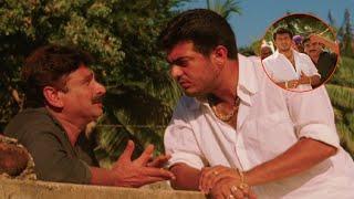 Ajith Telugu Superhit Movie Part 7   Dharma Yuddham   Pooja   Sharan