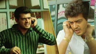 Ajith Telugu Superhit Movie Part 8   Dharma Yuddham   Pooja   Sharan