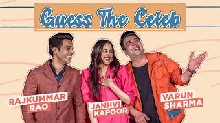 Janhvi Kapoor, Rajkummar Rao & Varun Sharma's HILARIOUS fight will make you ROFL | Guess the Celeb