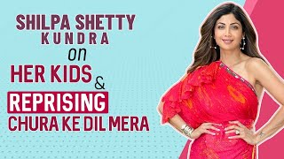 Shilpa Shetty Kundra on Viaan & Samisha, Tiger Shroff, recreating Chura Ke Dil Mera & Super Dancer 4