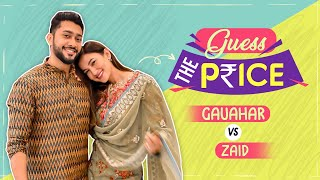 Gauahar Khan & Zaid Darbar's HILARIOUS Fight will make you go ROFL   Guess The Price Ep 3