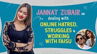 Jannat Zubair on online trolls, struggles, apprehensions about doing web shows & Mr Faisu   Lehja