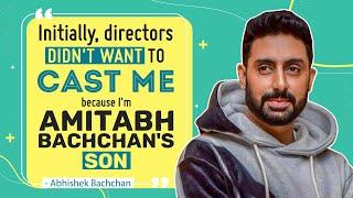 Abhishek Bachchan on lows, being Big B's son, how Aishwarya Rai Bachchan put his life back on track
