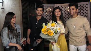 Siddharth Nigam & Abhishek Nigam, Sharad Malhotra & Surbhi Samriddhi At Yesha Rughani Birthday Bash