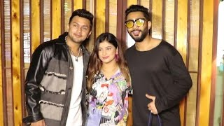 Awez Darbar, Zaid Darbar & Anam Darbar Spotted At Versova