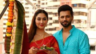 Rahul Vaidya & Disha Parmar Celebrating Gudi Padva Together