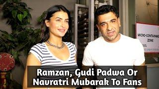 Eijaz Khan & GF Pavitra Punia Spotted At Andheri - Full Video