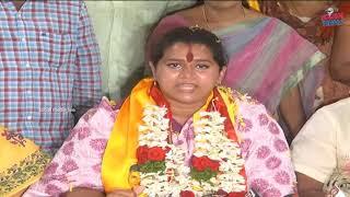 Vijayawada mayor candidate Kesineni Swetha   విజయవాడ టీడీపీ మేయర్ అభ్యర్థిగా శ్వేత   social media