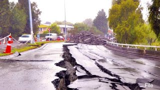 An earthquake measuring 3.6 on the Richter Scale hit Ladakh early on Saturday