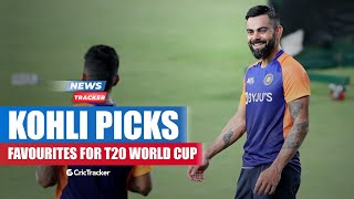 """Virat Kohli Reckons """" England"""" Are Favorite To Win T20 World Cup 2021 In India & More Cricket News"""