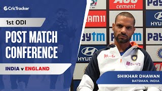 Pressure Always There In International Cricket: Shikhar Dhawan, Press Conference, IND vs ENG 1st ODI