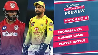 IPL 2021: Match 8, PBKS vs CSK Predicted Playing 11, Match Preview & Head to Head Record - Apr 16th