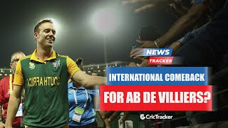 Mark Boucher Gives A Hint Of AB de Villiers' Comeback To South African Team And More Cricket News