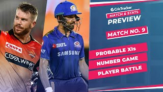 IPL 2021: Match 9, MI vs SRH Predicted Playing 11, Match Preview & Head to Head Record - April 17th