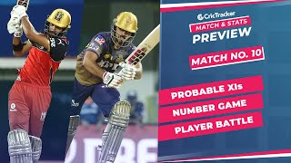 IPL 2021: Match 10, RCB vs KKR Predicted Playing 11, Match Preview & Head to Head Record - Apr 18th
