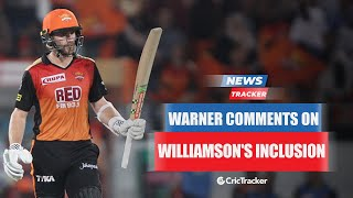 David Warner Reacts On Kane Williamson's Inclusion In SRH For IPL 2021 And More Cricket News