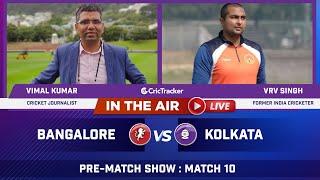 Indian T20 League Match 10 : Bangalore vs Kolkata Post Match Analysis With Vimal Kumar & VRV Singh