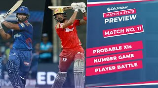 IPL 2021: Match 11, DC vs PBKS Predicted Playing 11, Match Preview & Head to Head Record - Apr 18th