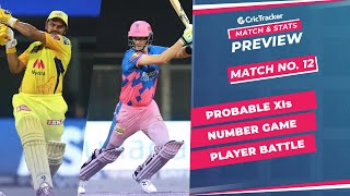 IPL 2021: Match 12, CSK vs RR Predicted Playing 11, Match Preview & Head to Head Record - Apr 19th