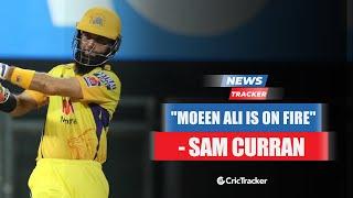 CSK's Sam Curran Hails Moeen Ali's Heroics Against Sanju Samson's RR & More Cricket News