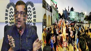 Sunni | Shia Ne Milkar Kiya | Gustaq Maloon Waseem Razvi Ke Khilaf Protest | Hyderabad |@Sach News