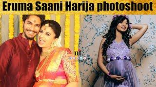 Eruma Saani Harija baby bump photoshoot video