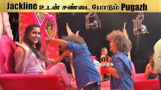 Shooting Spot -ல் Jacqueline உடன் சண்டை போட்ட Pugazh | Murattu Single | Vijay Tv