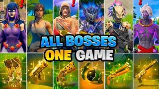 Eliminating All New Bosses in one game! Boss Spire, Agent Jonesy, Raven, Raz Vault & Mythic Weapons