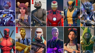 Fortnite All Bosses, Mythic Weapons, Vault Locations & Keycard! Fortnite Chapter 2 (Season 1 - 6)