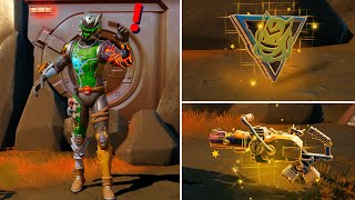 Fortnite All New Bosses, Mythic Weapons & KeyCard Vault Locations Boss Spire Assassin's Recycler