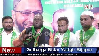 Afzal Ansari Aland Taluqa Dist Gulbarga Rural MIM President