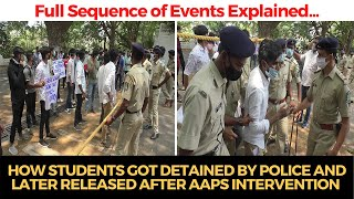 WATCH | How students got detained by police and later released after AAPs intervention