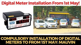 #Taxi | Compulsory installation of Digital meters to from 1st May: Mauvin
