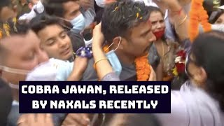 CoBRA Jawan, Released By Naxals Recently, Finally Meets Family In Jammu | Catch News