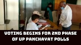 Voting Begins For 2nd Phase Of UP Panchayat Polls | Catch News