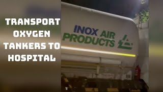 Delhi Police Create Green Corridor To Transport Oxygen Tankers To Hospital | Catch News