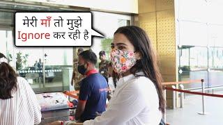 Airport Par Media Ke Sath Sara Ali Khan Ki Masti ????, Maa To Mujhe Ignore Kar Rahi Hai