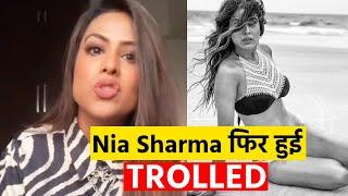Nia Sharma TROLLED For Wearing Bikini, Nia Jald Degi Muh Tod Jawab