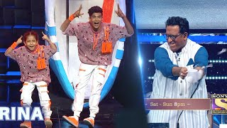 SUPER DANCER 4 Promo | Florina Aur Super Guru Tushar Shetty Ke Performance Ko Mila Standing Ovation