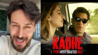 Radhe: Your Most Wanted Bhai Trailer Par Bole Tiger Shroff | Disha Patani | Randeep Hooda