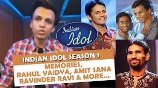 Abhijeet Sawant On Indian Idol Season 1, Amit Sana, Rahul Vaidya, Aditi And More...   OLD MEMORIES