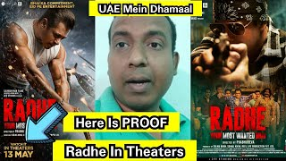 Radhe Is Officially Releasing IN Theaters In UAE, Here's The Proof, Salman Khan Fans Lucky In Dubai