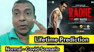 Radhe Lifetime Collection Prediction After Watching Its Trailer,Normal Scenario And Current Scenario