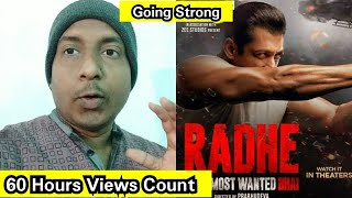 Radhe Trailer Views Count In 60 Hours, Salman Khan Trailer Views Are Increasing Fast