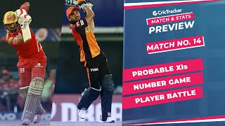 IPL 2021: Match 14, PBKS vs SRH Predicted Playing 11, Match Preview & Head to Head Record - Apr 21st
