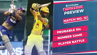 IPL 2021: Match 15, KKR vs CSK Predicted Playing 11, Match Preview & Head to Head Record - Apr 21st