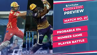 IPL 2021: Match 21, PBKS vs KKR Predicted Playing 11, Match Preview & Head to Head Record - Apr 26th