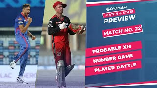IPL 2021: Match 22, DC vs RCB Predicted Playing 11, Match Preview & Head to Head Record - Apr 27th