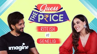 Genelia D'Souza & Riteish Deshmukh's FUNNIEST Guess the Price Challenge will make you go ROFL